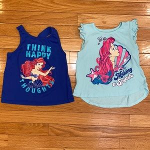 Disney Princess Ariel Little Mermaid PJs Pajamas